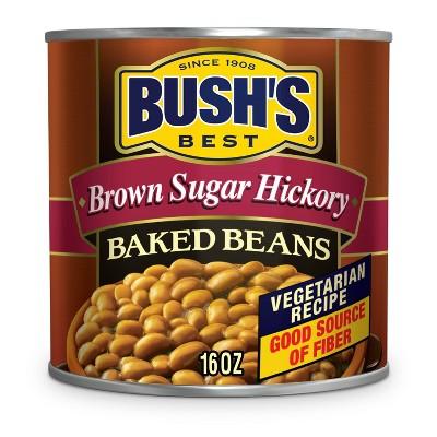 Bush's Brown Sugar Hickory Baked Beans - 16oz