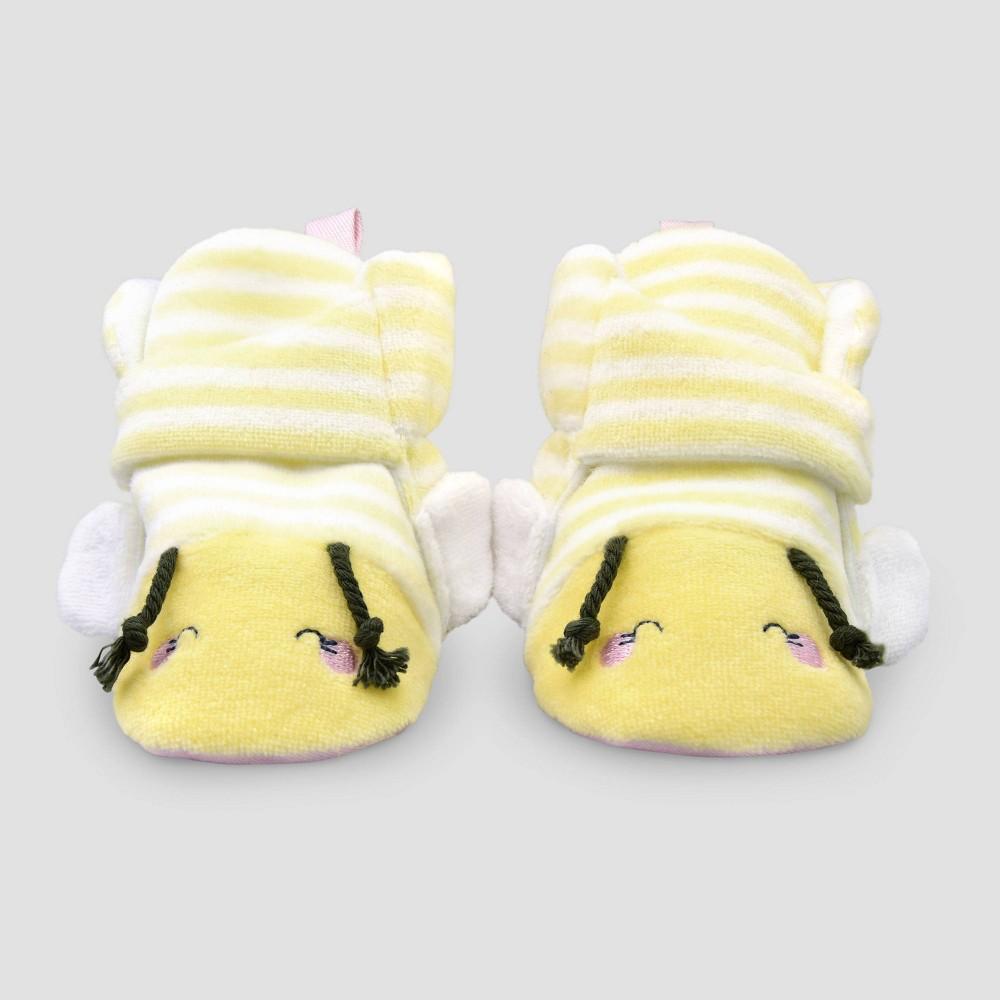 Image of Baby Oh Honeybee - Cloud Island Yellow 0-3M, Kids Unisex, White Yellow