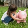 Farm Hoppers Inflatable Bouncing Pink Pig - image 3 of 3