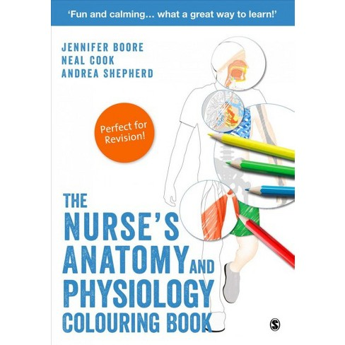Nurse\'s Anatomy And Physiology Colouring Book - (Paperback) : Target