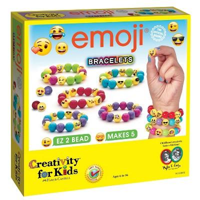 Creativity for Kids Jewelry Kit - Emoji Bracelets