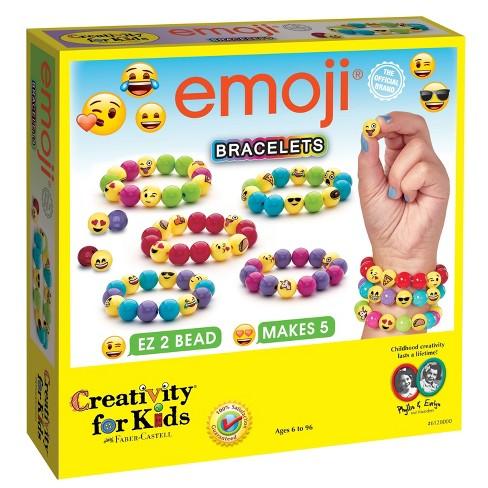 Creativity for Kids Jewelry Kit - Emoji Bracelets - image 1 of 4