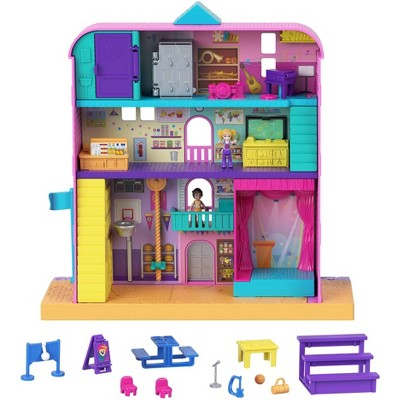 Polly Pocket Pollyville Mighty School Playset