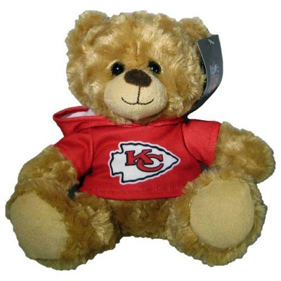 "NFL Kansas City Chiefs 9"" Hoodie Bear"