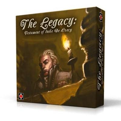 Legacy - Testament of Duke de Crecy (1st Edition) Board Game
