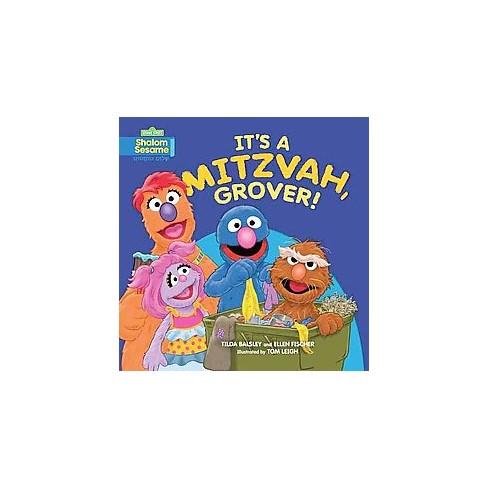 Its A Mitzvah Grover Paperback Tilda Balsley Target