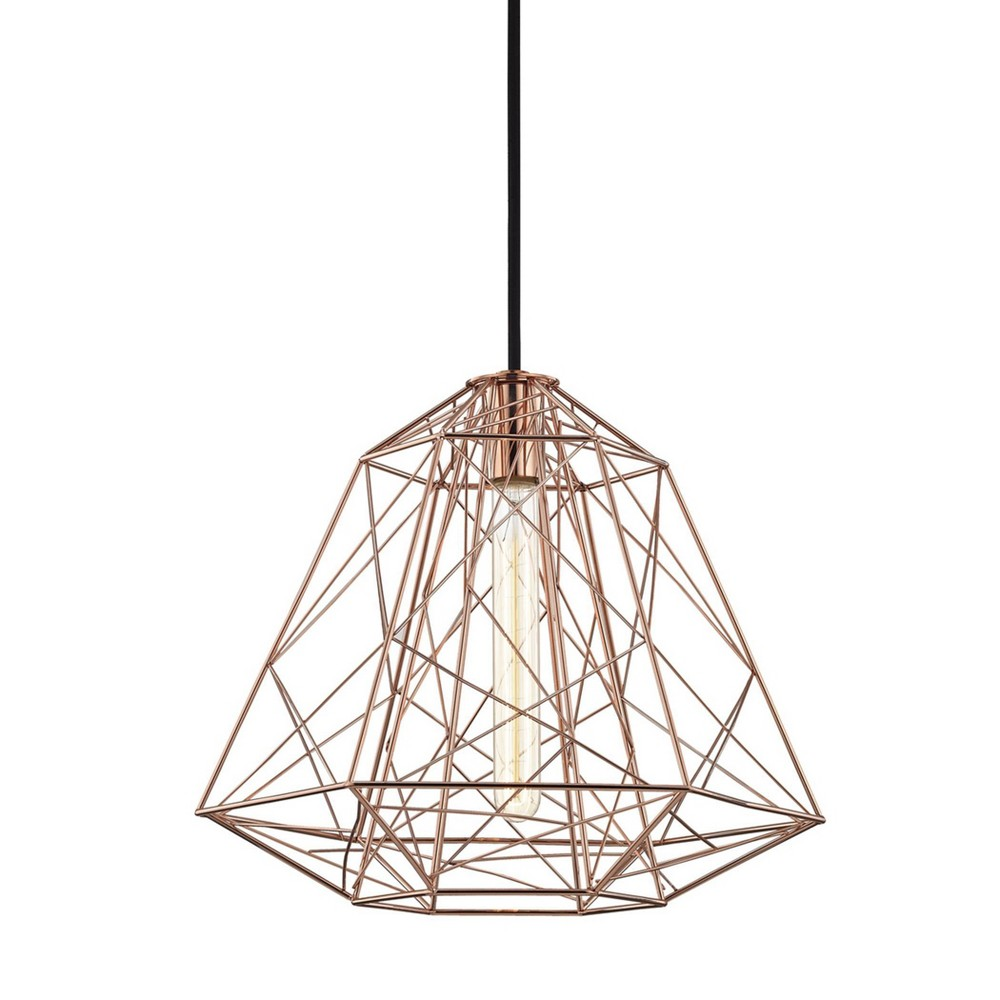 Ani 1-Light Pendant Chandelier Brushed Nickel - Mitzi by Hudson Valley Promos