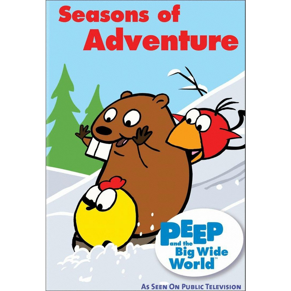 Peep and the big wide world:Seasons o (Dvd)