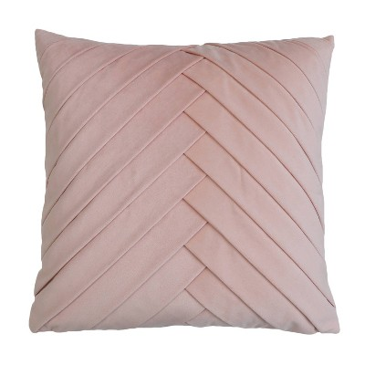 Oversize James Pleated Velvet Throw Pillow - Décor Therapy