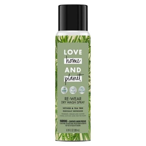 Love Home & Planet Vetiver & Tea Tree Re-Wear Dry Spray - 6.76oz - image 1 of 4