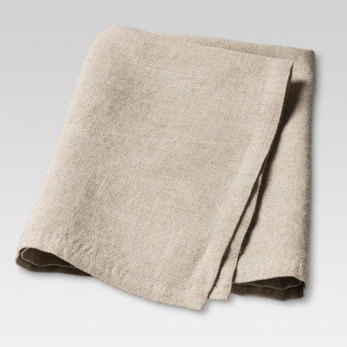 "20""x20"" Set of 4 Kitchen Textiles Napkin Natural - Threshold™ - image 1 of 1"