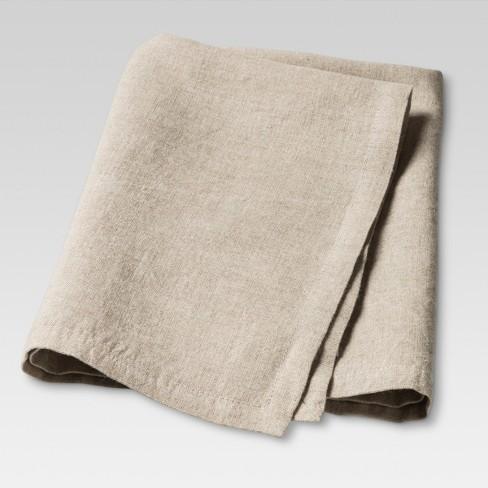 "20""x20"" Set of 4 Kitchen Textiles Napkin Natural - Threshold™ - image 1 of 4"