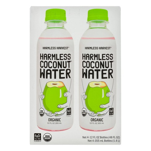 Harmless Harvest Coconut Water - 12oz/4pk - image 1 of 3