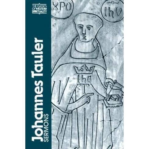 Johannes Tauler - (Classics of Western Spirituality (Paperback)) (Paperback) - image 1 of 1