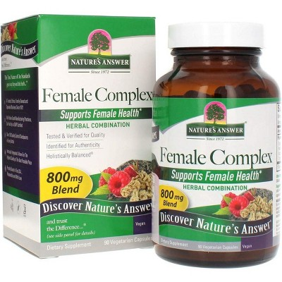 Nature's Answer Female Complex Herbal Blend Supplement Vegetarian Capsules 90 Capsules