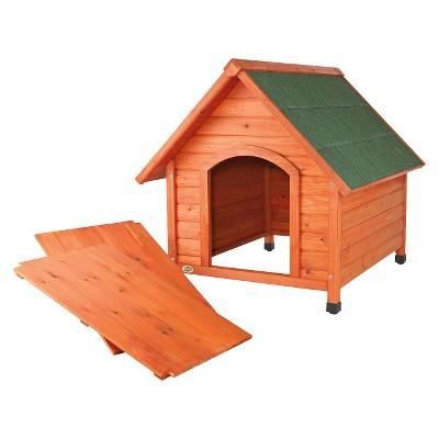 Trixie Log Cabin Dog House - L - Brown