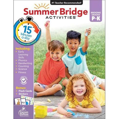 Summer Bridge Activities Grades PK–K (Paperback) - image 1 of 4