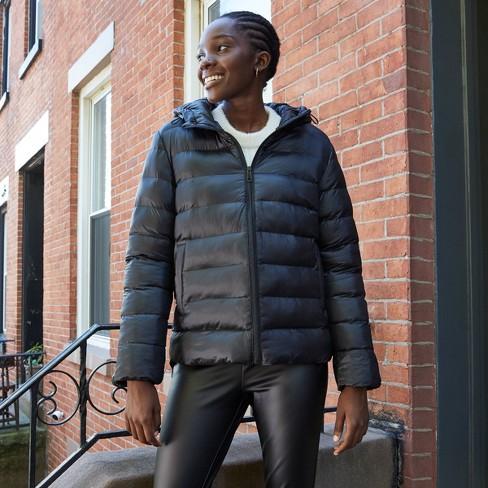 Women's Lightweight Puffer Jacket - A New Day™ - image 1 of 3