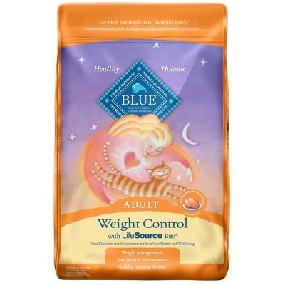 Blue Buffalo Weight Control with Chicken & Brown Rice Adult Premium Dry Cat Food