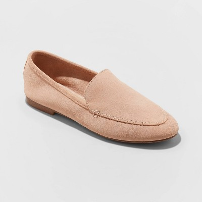 Women's Mila Microsuede Deconstructed Loafers   A New Day by A New Day