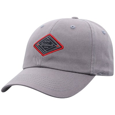 NCAA Arizona Wildcats Men's Gray Washed Relaxed Fit Hat