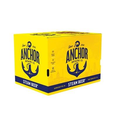 Anchor Steam Beer - 12pk/12 fl oz Bottles