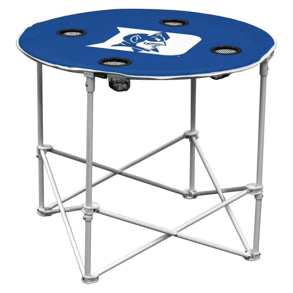 Duke Blue Devils Portable Round Table