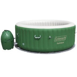 Coleman SaluSpa 6 Person Inflatable Outdoor Spa Bubble Massage Hot Tub