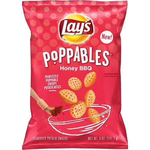 Lay's Poppables Honey BBQ Flavored Potato Chips - 5oz - image 1 of 3