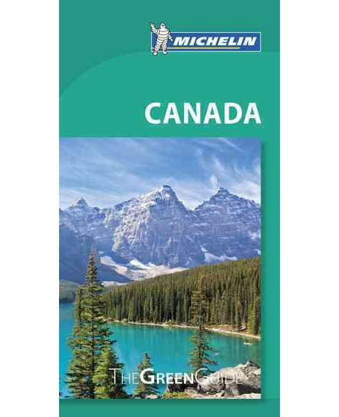 Michelin Green Guide Canada (Paperback) - image 1 of 1