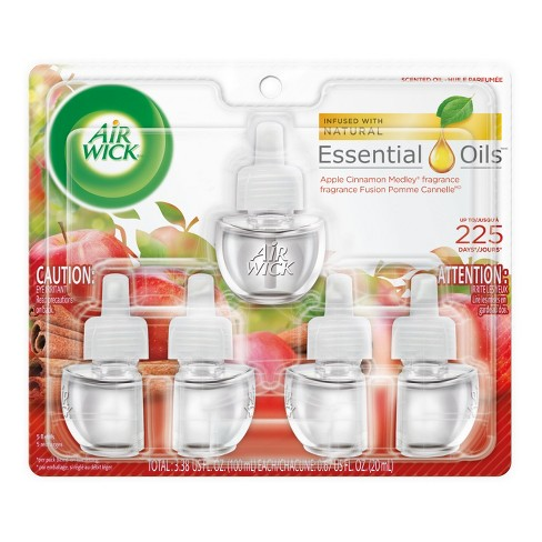 Air Wick Apple Cinnamon Medley Scented Oil Air Freshener Refills - image 1 of 4