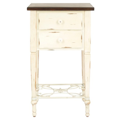 Accent Table White - Safavieh® - image 1 of 4