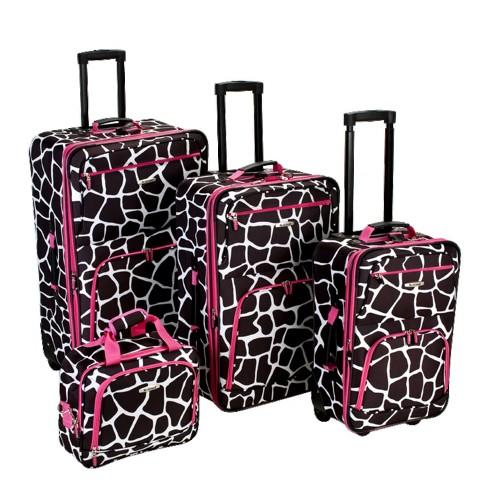 Rockland 4pc Luggage Set - image 1 of 4
