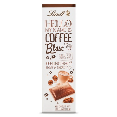 Lindt Hello My Name Is Coffee Blast Bar - 3.5 oz - image 1 of 2