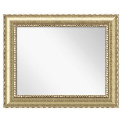 "35"" x 29"" Astoria Champagne Framed Wall Mirror - Amanti Art"