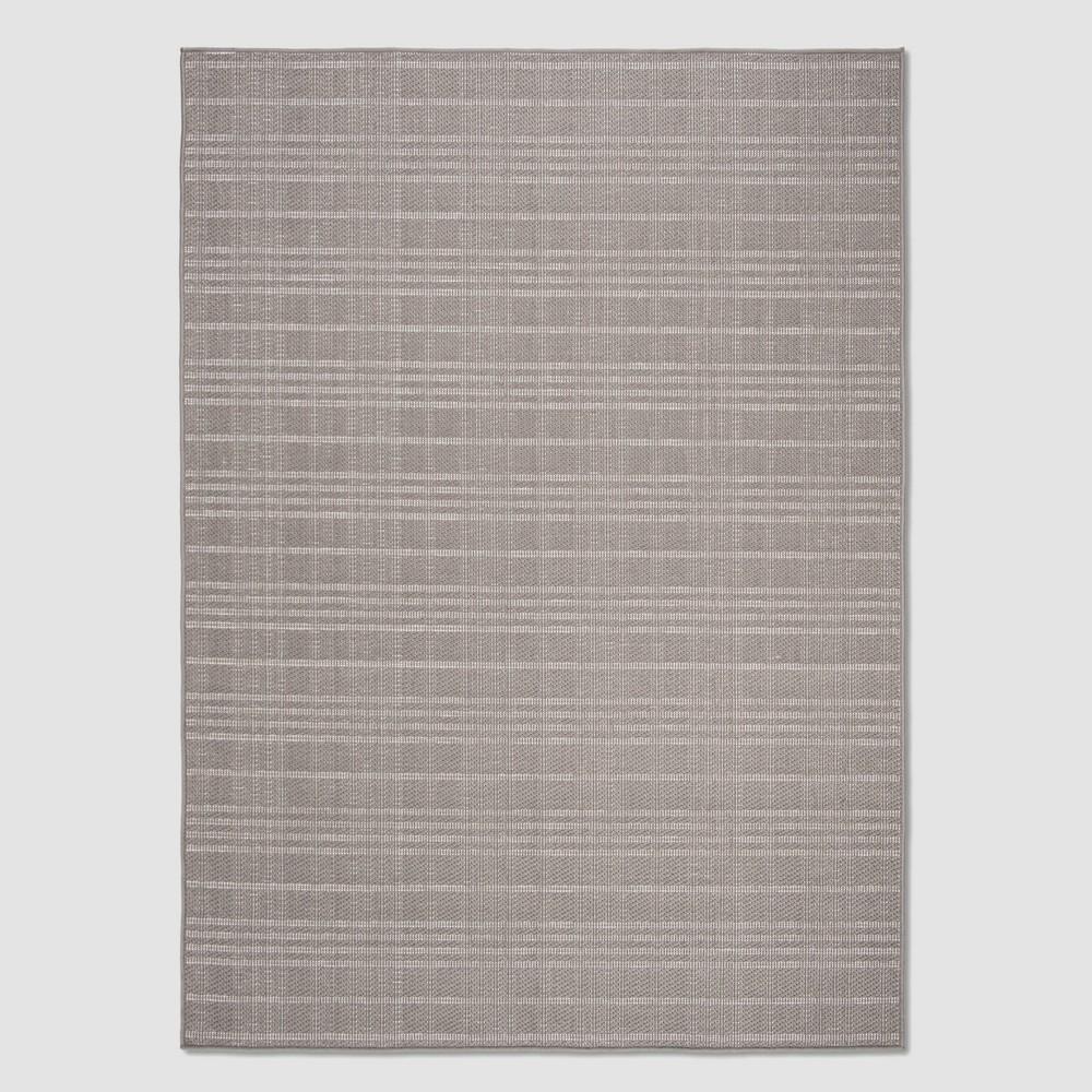Zella 4' x 6' Outdoor Rug Gray - Safavieh