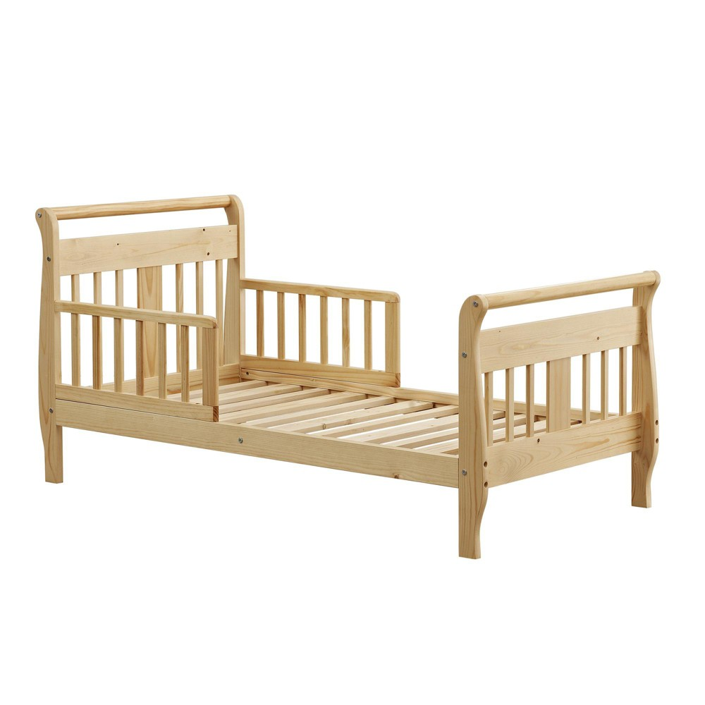 Image of Baby Relax Apollo Sleigh Toddler Bed Natural
