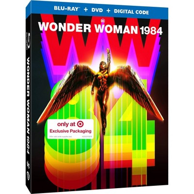 Wonder Woman 1984 (Target Exclusive) (Blu-ray + DVD + Digital)