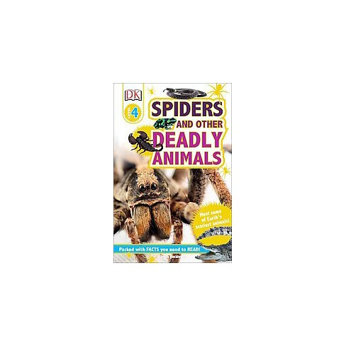 DK Readers L4: Spiders and Other Deadly Animals - (DK Readers: Level 4) by  James Buckley (Paperback) - image 1 of 1