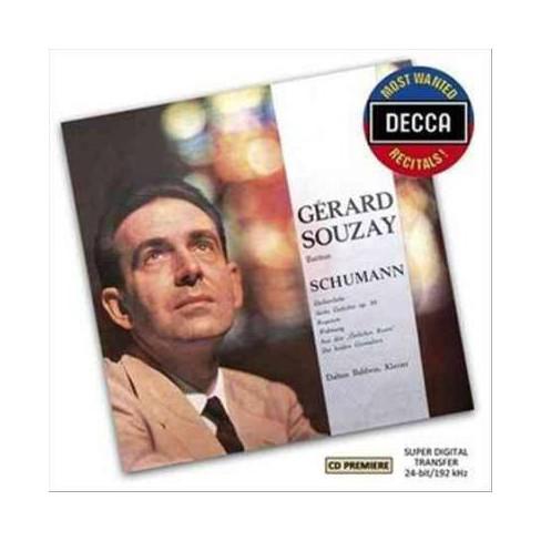 Most Wanted Recitals! Schumann- Dichterliebe Op. 48; Sechs Gedichte Un (CD) - image 1 of 1