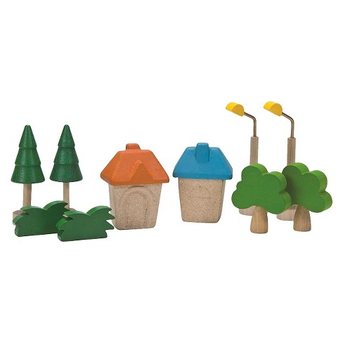 PlanToys City Road And Rail City Accessories - image 1 of 1