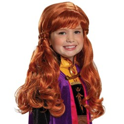 Girls' Frozen 2 Anna Halloween Costume Wig