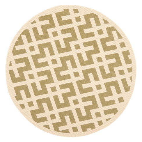 Cleo Geometric Patio Rug Collection - Safavieh® - image 1 of 1