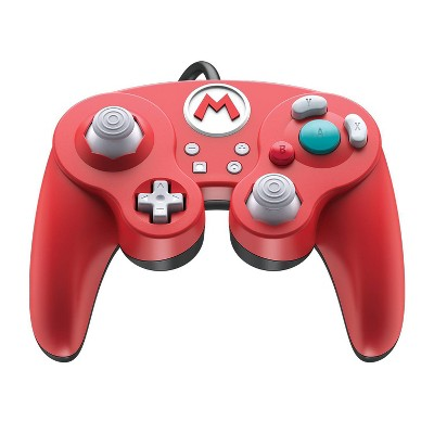 Nintendo Super Mario Bros. Wired Fight Pad Pro Controller for Nintendo Switch - Red