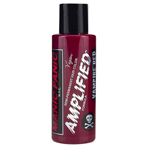Manic Panic Semi-Permanent Hair Color Vegan Fantasy Colors Vampire Red - image 1 of 3