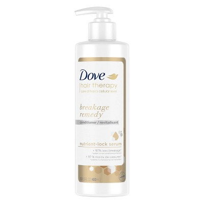 Dove Beauty Hair Therapy Breakage Remedy with Nutrient-Lock Serum Conditioner - 13.5 fl oz