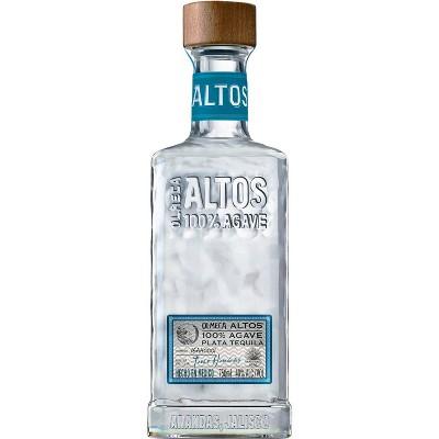 Altos Plata Tequila - 750ml Bottle