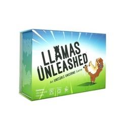 TeeTurtle Llamas Unleashed Game, Adult Unisex