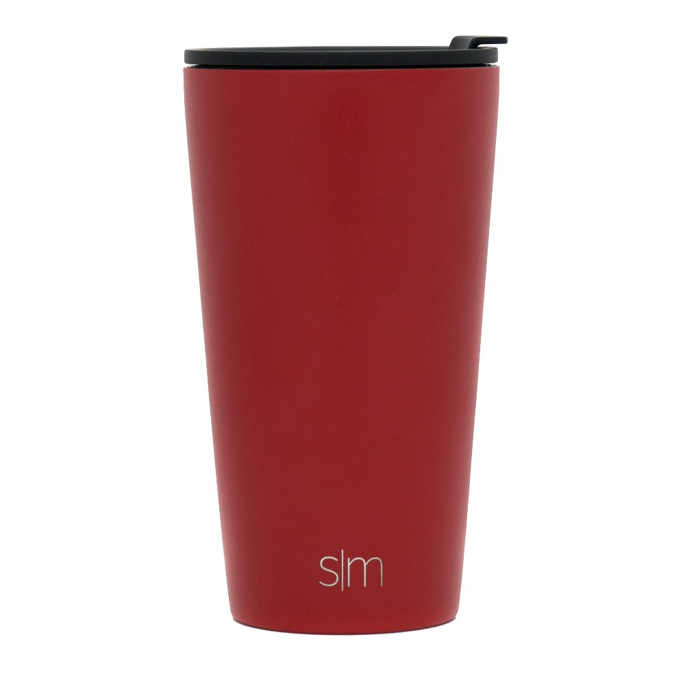 Simple Modern 16oz Classic Pint Cherry Red