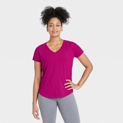 Women's Essential V-Neck Short Sleeve T-Shirt - All in Motion™